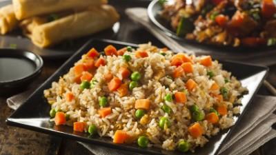 אורז עם ירקות Fried Rice
