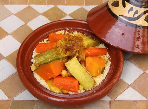 קוסקוס עם ירקות קל להכנה