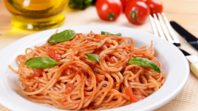 פסטה / ספגטי ברוטב עגבניות