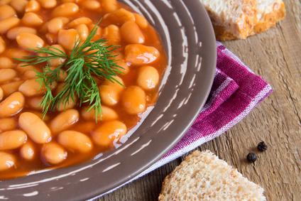 מרק שעועית ברוטב עגבניות